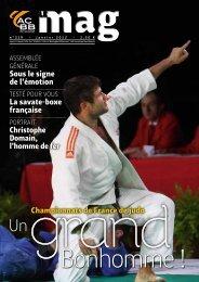 Sous le signe de l'émotion La savate-boxe française ... - ACBB Aviron