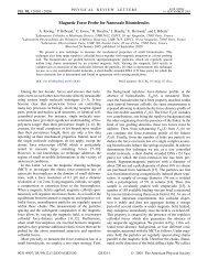 Download - Laboratoire Colloïdes et Matériaux Divisés - Espci