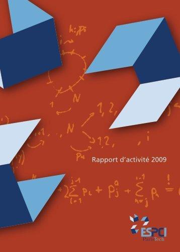 Rapport d'activité 2009 - Espci