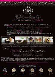 Sturia, le caviar Haute Couture... Retrouvez les ... - Transversal