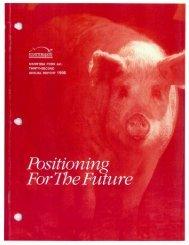 1996 Annual Report - Manitoba Pork Council