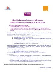 M6 Mobile by Orange lance sa nouvelle game - Groupe M6