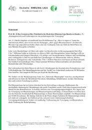 Prof. Dr. Gromnica-Ihle - Deutsche Rheuma-Liga Bundesverband eV