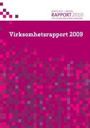 Stiftelsen Bergensklinikkenes virksomhetsrapport ... - KoRus Bergen
