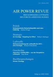 AIR POWER REVUE - Schweizer Luftwaffe