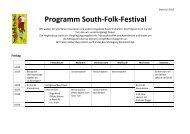 Tagesplan SFF- Juli 2013