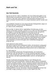 als PDF_Datei für Journalisten - Alternative Krebstherapie