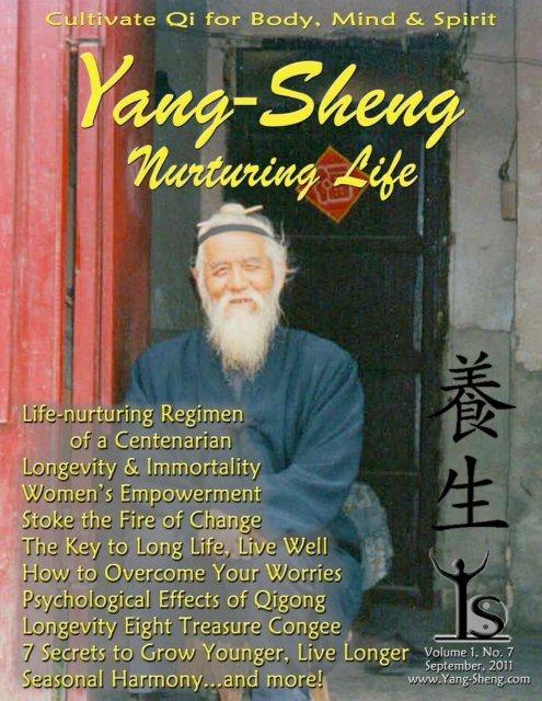 Longevity Eight Treasure Congee - Yang-Sheng