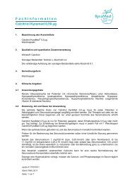 F a c h i n f o r m a t i o n - Kyramed Biomol Naturprodukte GmbH