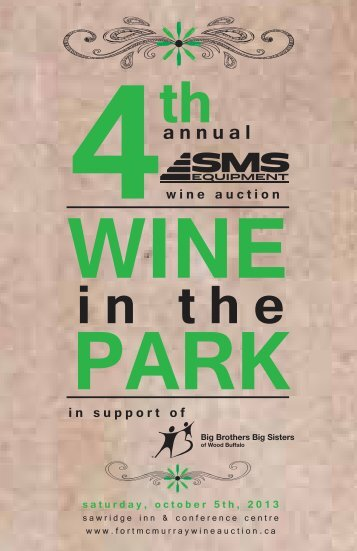 2013-sponsor-package - Fort McMurray Wine Auction