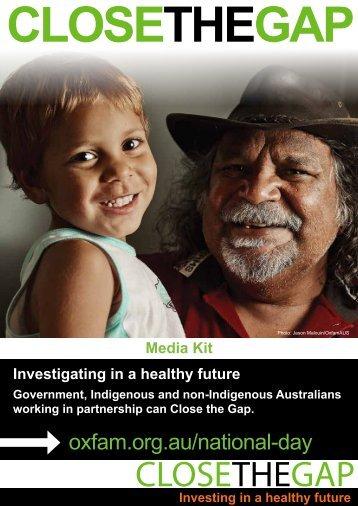 CLOSETHEGAP - Oxfam Australia