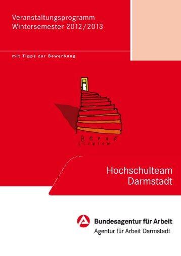 Hochschulteam Darmstadt - Bundesagentur für Arbeit