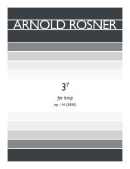 Rosner - 3^7, op. 114