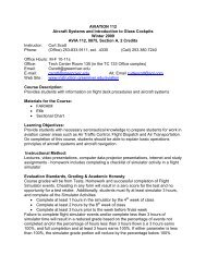 AVIATION 101 - Instruction.greenriver.edu - Green River Community ...