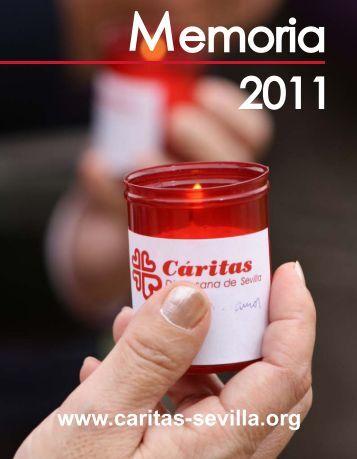 Memoria diocesana 2011. - Caritas Diocesana de Sevilla