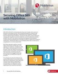 MobileIron Deployment Architecture