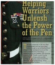 Warrior Writers - MyHighPlains