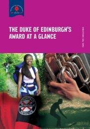 Award scheme - At a glance 25/03/2008 473 KB