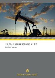 us öl- und gasfonds xi kg - AVL Finanzdienstleistung Investmentfonds