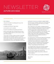 This Autumn issue - McCarthy Mentoring