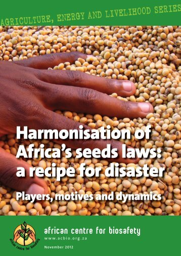Harmonisation of seed laws in Africa.indd - Never Ending Food