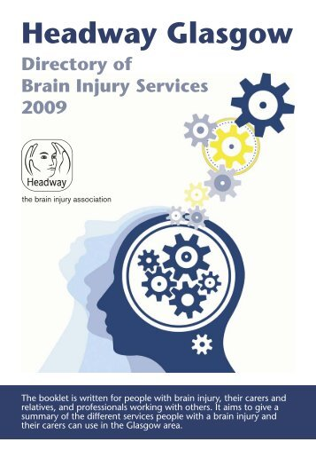 Directory of Services - Headway Glasgow