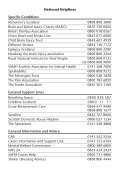 Directory of Services - Headway Glasgow - Page 2