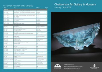 to download our January - April 2009 Exhibitions leaflet (pdf 1.4mb)