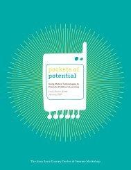 pockets of potential - Joan Ganz Cooney Center