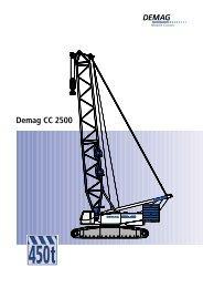 Demag CC 2500 - Sarens