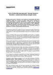 Energia Solară în România - susine dezvoltarea energiei solare