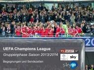 UEFA Champions League - Sky Media Network