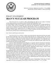 IRAN'S NUCLEAR PROGRAM - ViaMUN