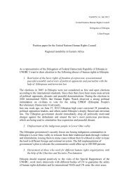 Position paper for the United Nations Human Rights ... - ViaMUN