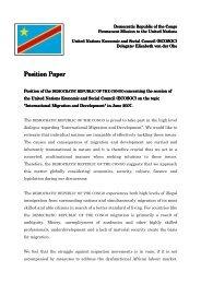 Position Paper Position Paper - ViaMUN