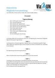 Mitgliederversammlung vom 03.04.2012 - ViaMUN