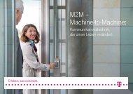 M2M – Machine-to-Machine: - Deutsche Telekom