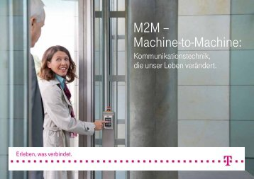 M2M – Machine-to-Machine: - Deutsche Telekom