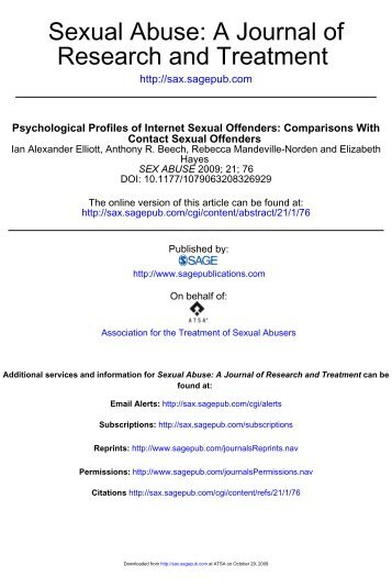 Typological Offender Profiling Activity