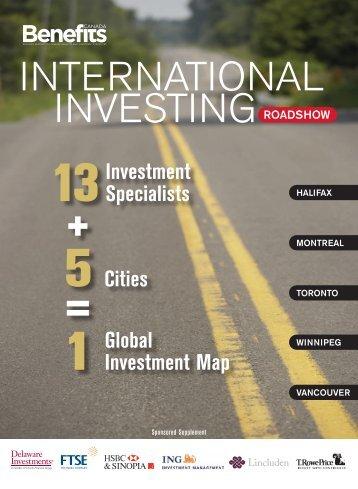 INTERNATIONAL INVESTINGROADSHOW - Benefits Canada
