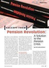 Pension Revolution: - Benefits Canada