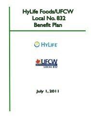 HyLife Benefit Plan - UFCW, Local 832