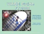 FY 2008 - Prince William County Public Schools