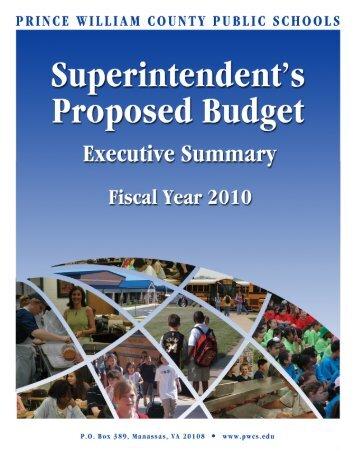 Revenues - Prince William County Public Schools