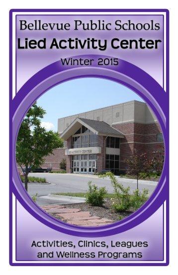 2013 winter wellness programs - Bellevue Public Schools