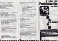 einem Flyer in der Mensa (PDF) - webMoritz