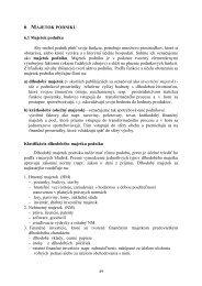 6 MAJETOK PODNIKU 6.1 Majetok podniku Aby mohol podnik plniť ...