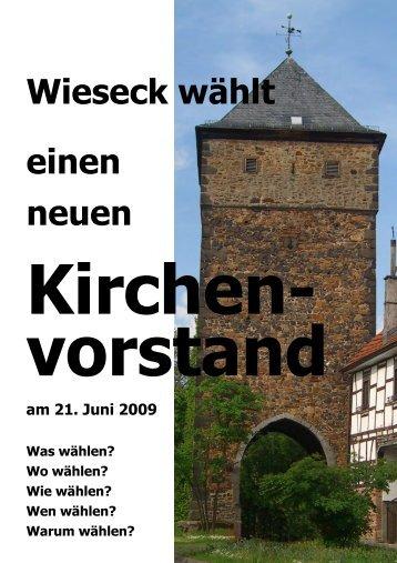 KV-Wahl 2009 Flyer.pub - Evangelische Michaelsgemeinde Wieseck