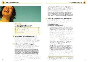 Chapitre II : La Campagne Procura+