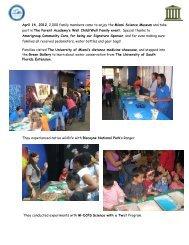 FLE 2011-2012 - The Parent Academy